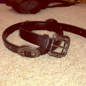 Black western belt